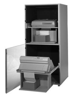 """Doppeldruckerschrank Staubschutz  """"DDS-2000-ST-500"""