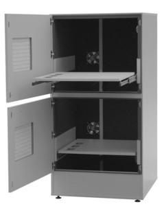 """Druckerschrank """"Eti-Clean-ZW-530-L"""" mit Lärmschutzoption"""