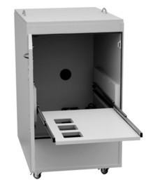 """Druckerschrank """"Eti-Clean-530-L"""" mit Lärmschutzoption"""