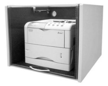 """Lärmschutzgehäuse für Laserdrucker """"Laser-Cabinet"""" LC87"""