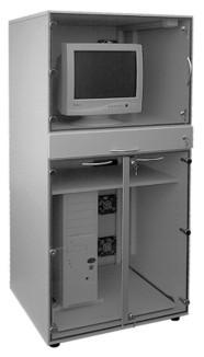 TYP 1 : EDV- Staubschutzschrank für stehende Arbeiten
